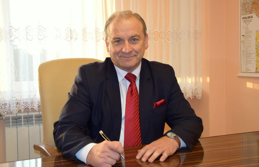 Jerzy Ryziński - Prezes zarządu ZWiK w Ciechanowie