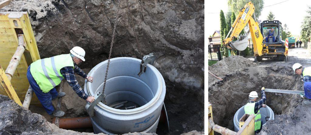 Prace modernizacyjne na terenach Zakładu Wodociagów i Kanalizacji w Ciechanowie