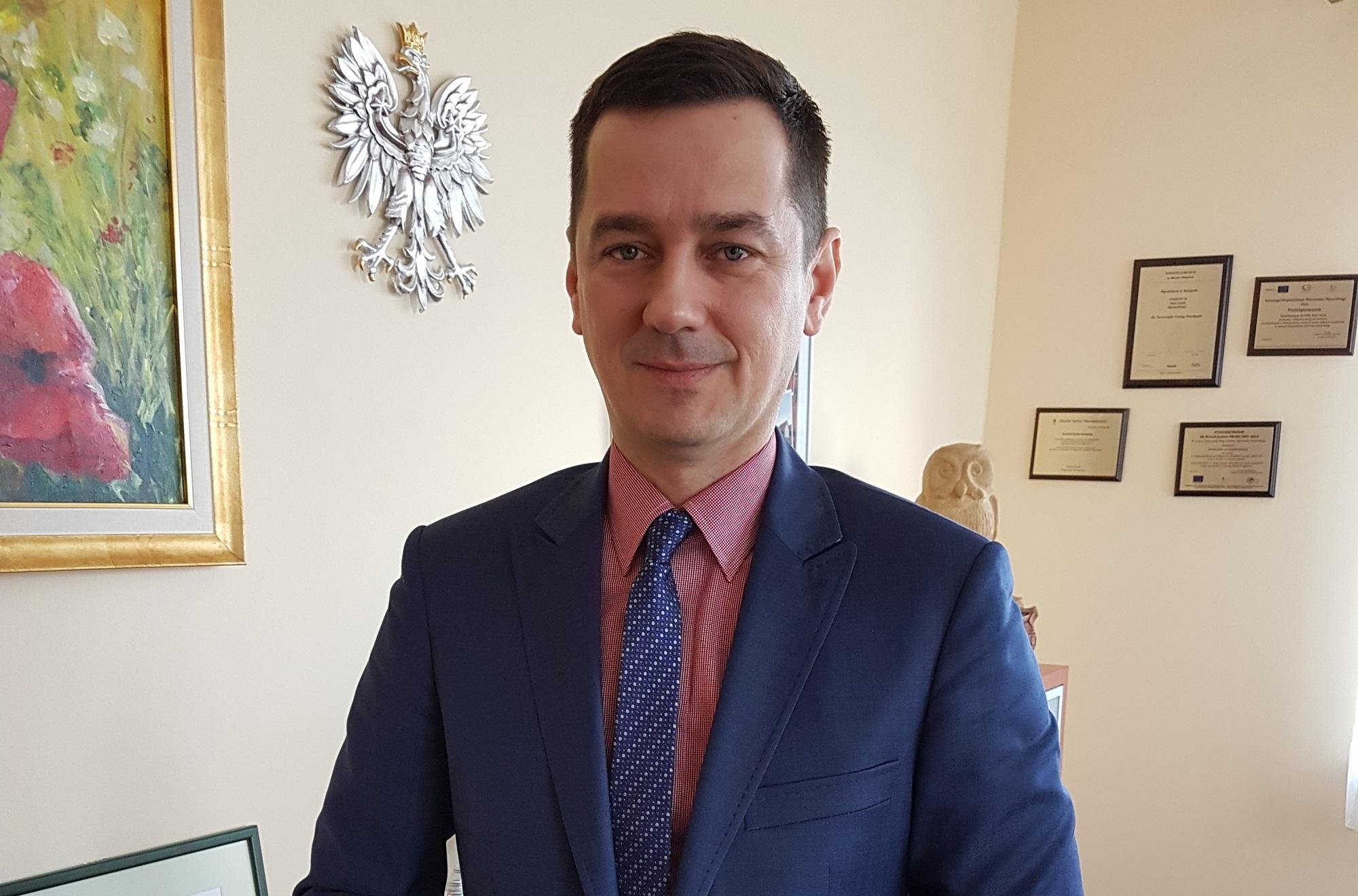 Michał Kontraktowicz, Wójt Gminy Stawiguda