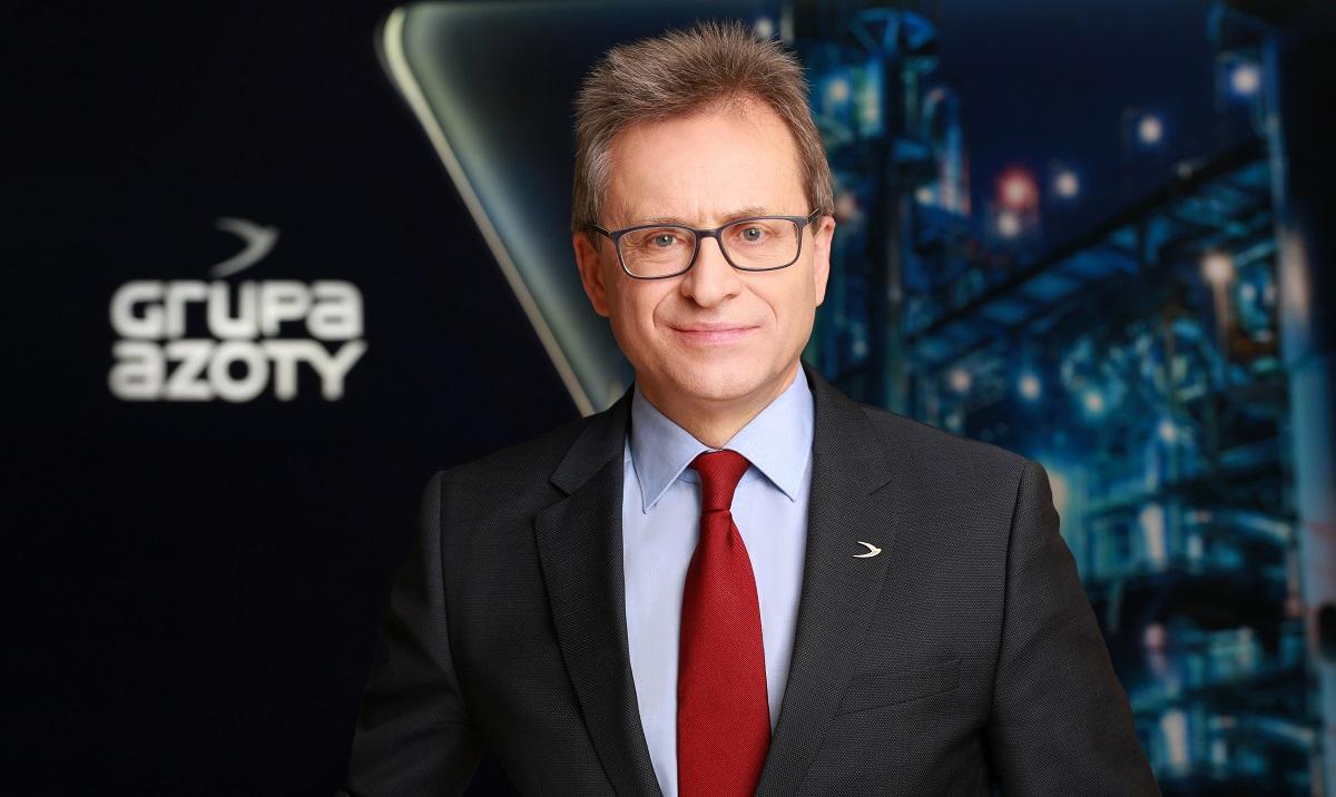 dr Wojciech Wardacki, prezes zarządu Grupy Azoty S.A.